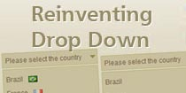 Reinventing a Drop Down